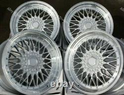 16 Spl Rs Wheels Alloy For Audi 90 100 80 Coupe Cabriolet Saab 900 9000