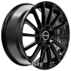 17 Black Alloy Wheels Mbm For Audi A6 C7 A8 Q3 Q5 Q7 5x112 Tt Coupe Cabriolet