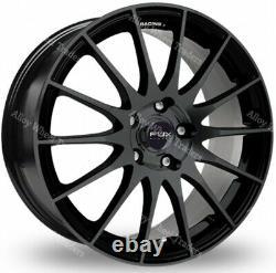 17 Black Fx004 Audi Alloy Wheels 90 100 80 Saab Convertible Coupe 900 9000 4x108