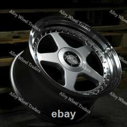 17 F5 Alloy Wheels For Audi 90 100 80 Coupe Cabriolet Saab 900 9000 4x108 Sp