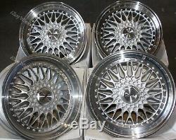 17 S Vintage Alloy Wheels Audi Coupé Cabriolet 90 100 80 Saab 900 9000 4x108