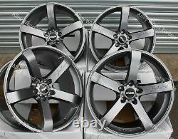 19 Blade Alloy Wheels For Audi A4 B5 B8 B8 B9 Saloon A5 Wr Convertible Coupe