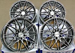 19 Gmf Fr1 Alloy Wheels For Audi A6 C7 A8 Q3 Q5 Q7 5x112 Tt Coupe Cabriolet