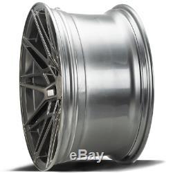 20 Gray Cf1 Alloy Wheels For Audi A6 C7 A8 Q3 Q5 Q7 5x112 Tt Coupe Cabriolet