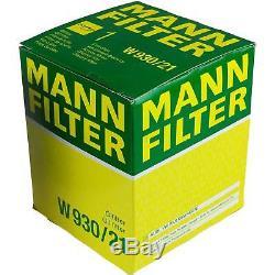 6l Liqui Moly 5w-30 Motor Oil + Filter Mann-filter Audi Cabriolet 8g7 B4