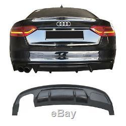 Air Diffuser For Rear Bumper For Audi A5 8t 12-16 Coupe / Cabrio Rs