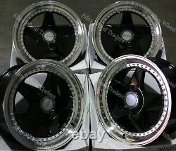 Alloy Wheels 17 F5 For Audi Coupé Cabriolet 90 100 80 Saab 900 9000 4x108 Bp
