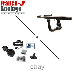 Attalage Pack For Audi A4 Convertible 05- Removable - Beam Spec. 7 Top Pins