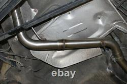 Audi 80 90 Type 89 B3 B4 Soda Coupe Silent Convertible Central Pipe 635mm