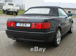 Audi 80/90 Type 89 B3 / B4limousine / Coupe And Convertible Sport Silencer From Fox
