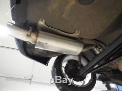Audi 80/90 Type 89, B3 Soda / Coupe / 80 B4 Cabriolet Silencer 135x80mm Von