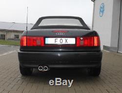 Audi 80/90 Type 89, B3 Soda / Coupé / 80 B4 Cabriolet Silencer 2x76mm Von