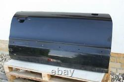 Audi 80 B4 Typ89 Cabriolet Coupé Front Door To Right Passenger Black 8g0831052
