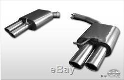 Audi A4 B8 / A5 8t Quattro Coupe / Convertible Duplex Muffler Sport Each 2x88x74