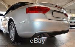 Audi A5 8t Coupé Cabriolet Bj 11-16 Rear Diffuser S-line Look