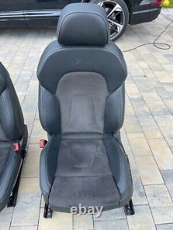 Audi A5 B8 8t0 S5 Rs Coupé Cabriolet S-line Alcantara Leather Seats Leather Seats