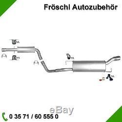 Audi Tt 1.8 T Coupé Cabriolet 150 163 179 190 Ch & Exhaust Fitting Kit
