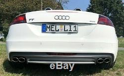 Audi Tt 8j Exhaust Muffler Sport Coupe Cabriolet 1.8 Tfsi Tts Quattro 2.0