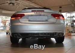 B8 Audi A5 8t Coupe Cabriolet Rear Diffuser Grid S-line Lifting