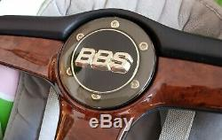 Bbs Wheel Wood Steering Wheel Wood Lenkrad Vw Audi Bmw Mercedes Coupe Convertible