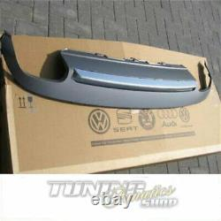 Bumper Spoiler Aluminum Audi A5 8t Coupe + Convertible Original S5 Rear