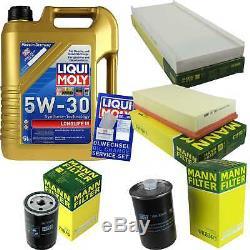 Filter Review Liqui Moly 5w-30 Oil 5l For Audi Cabriolet 8g7 B4 2.0 S De