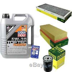 Filter Review Liqui Moly 5w-30 Oil 5l For Audi Cabriolet 8g7 B4 2.3 S