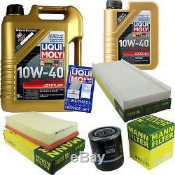 Filter Review Liqui Moly Oil 10w-6l 40 Audi Cabriolet 8g7 B4