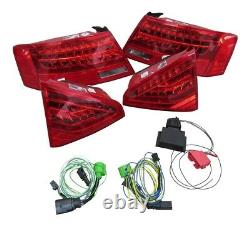 For Audi A5 S5 Coupe Convertible #4 Original Led Lights Rear Cable Adapter