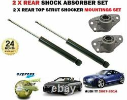 For Audi Tt Coupe + Cabriolet 2006-2014 2x Amortizer Rear Set + Top