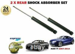For Audi Tt Coupe + Cabriolet 2006-2014 New 2x Back Left Right Choc D Set