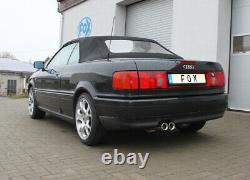 Fox 2x76 Silencer For Audi 80/90 89, B3 Soude / Coupé / 80 B4 Cabriolet