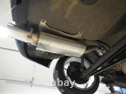 Fox Silencer 135x80 For Audi 80/90 89, B3 Soda / Coupé / 80 B4 Cabriolet