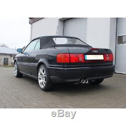 Fox Sport Exhaust Audi 80/90 Type 89 B3 Saloon / Coupe / 80 B4 Cabriolet 2 X