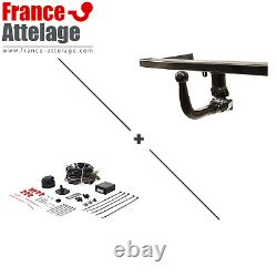 Full Set Hitch For Audi A4 Break 01-04 Removable - 13-pin Beam Set