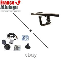 Full Set Hitch For Audi A4 Sedan 15- Removable - Beam 13 Aaa Pins
