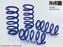 H&r Lowering Springs For Audi Tts Coupé + Cabriolet 8j Year Fab