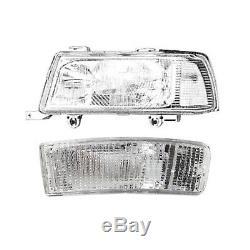Headlight Left For Audi 80 B4 8c 91-98 Coupe / Cabriolet De-lumière H1