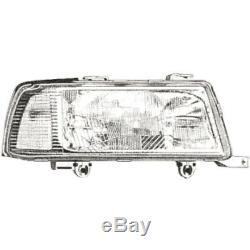 Headlight Right For Audi 80 B4 8c 91-98 Coupe / Cabriolet De-lumière H1
