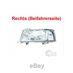 Headlight Right For Audi 80 B4 Type 8c Year Fab. 91-98 Coupe / Cabriolet