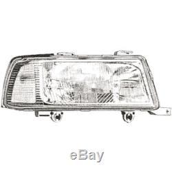 Headlight Set For Audi 80 B4 8c 91-98 Coupe / Cabriolet De-lumière H1