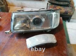 Headlights Left Hella Audi 80 B4 Cabriolet Coupe