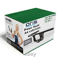 Hitch For Audi A4 Convertible 04.2002 09.2005 Removable With Oris Top Tool