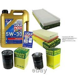 Kit Filter Of Inspection Huile Liqui Moly 5 L 5w-30 For Audi Cabriolet 8g7 B4