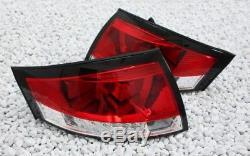 Led Rear Fairing Set For Audi Tt 8n 98-06 Cabriolet Coupe Red