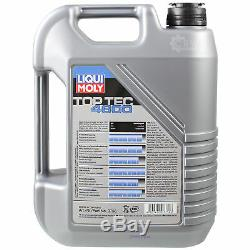 Liqui Moly 6 L 5w-30 Engine Oil + Mann Luft Filter Audi Cabriolet 8g7 B4 2.6