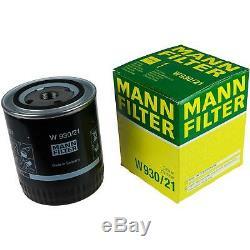 Liqui Moly 6 L 5w-30 Motor Oil + Mann-filter Audi Cabriolet 8g7 B4 2.8