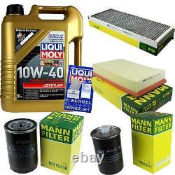 Liqui Moly Oil 5l 10w-40 Filter Review For Audi Cabriolet 8g7 B4 2.6