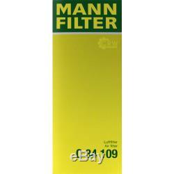 Mannol 5 L Energy 5w-30 Premium + Mann-filter Audi Cabriolet 8g7 B4 2.0 16v