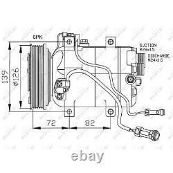 Nrf Air Conditioning Compressor For Audi Cabriolet 8g7 B4 A6 4a C4 4a2